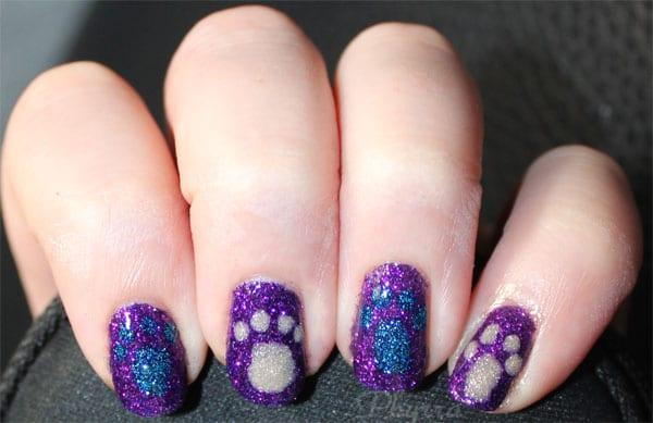 Wearing Zoya Carter, Liberty and Godiva nail polish