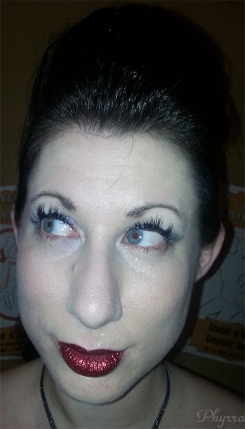 Xtreme Lashes after 1 week