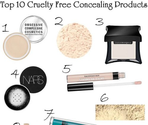 Top 10 Cruelty Free Concealing Products