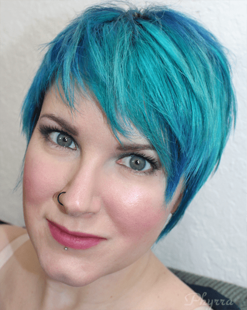 Wearing NARS Bad Behaviour and Coeur Battant Swatches, Review