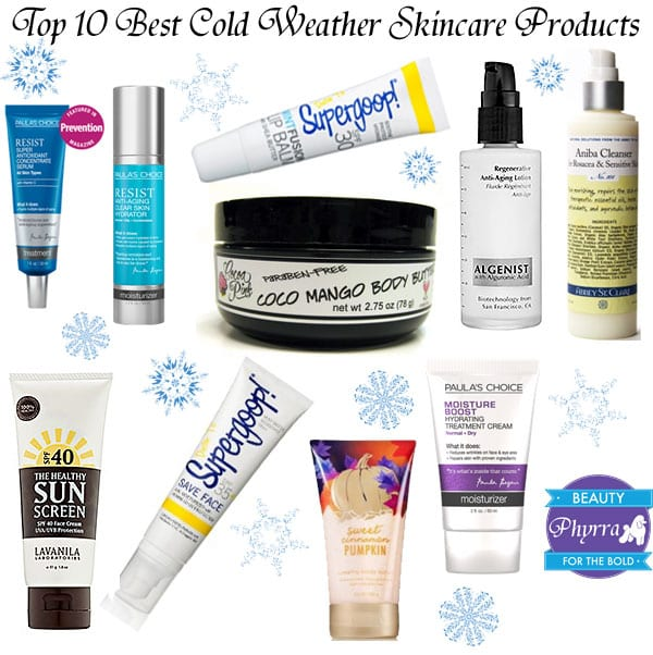 Top 10 Best Cold Weather Cruelty Free Skincare Products
