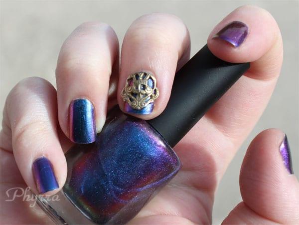 I Love Nail Polish Birefringence and Nail Veils