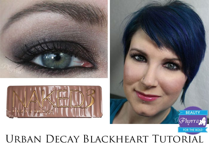 Urban Decay Black Rose Red Makeup Eyeshadow Tutorial
