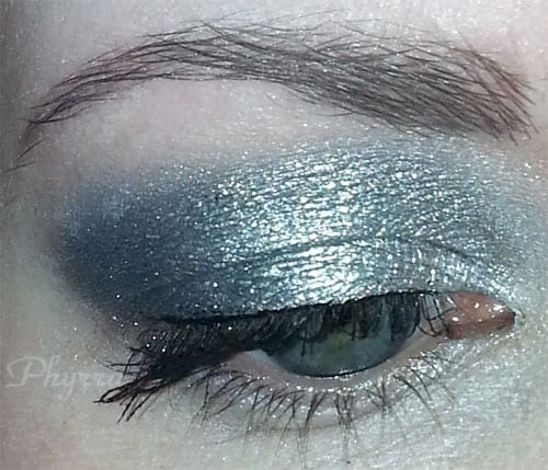My Strange Angels look with Creeping Angels on top of NARS Transvaal and Intergalactic