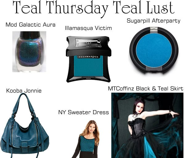Teal Thursday Teal Lust