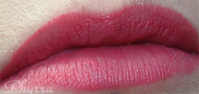 Wearing Hourglass Rouge Liquid Lipstick in Edition