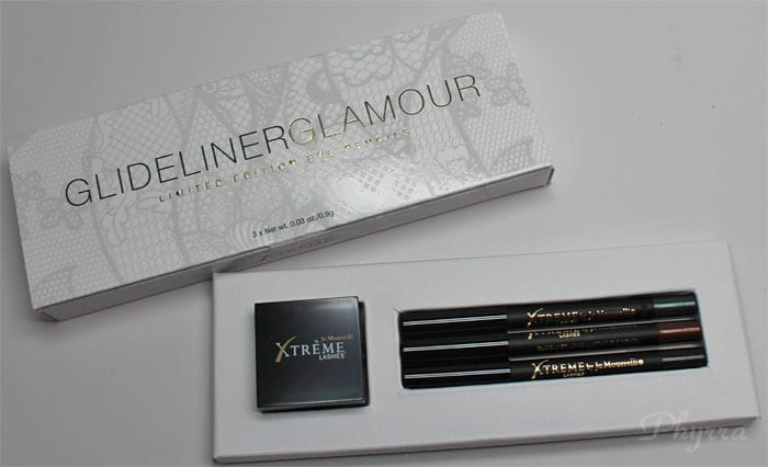 Xtreme Lashes Glideliner Glamour Swatches