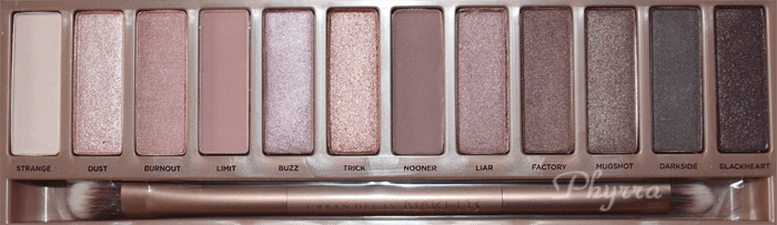 Urban Decay Naked Palette Review, Swatches, Video