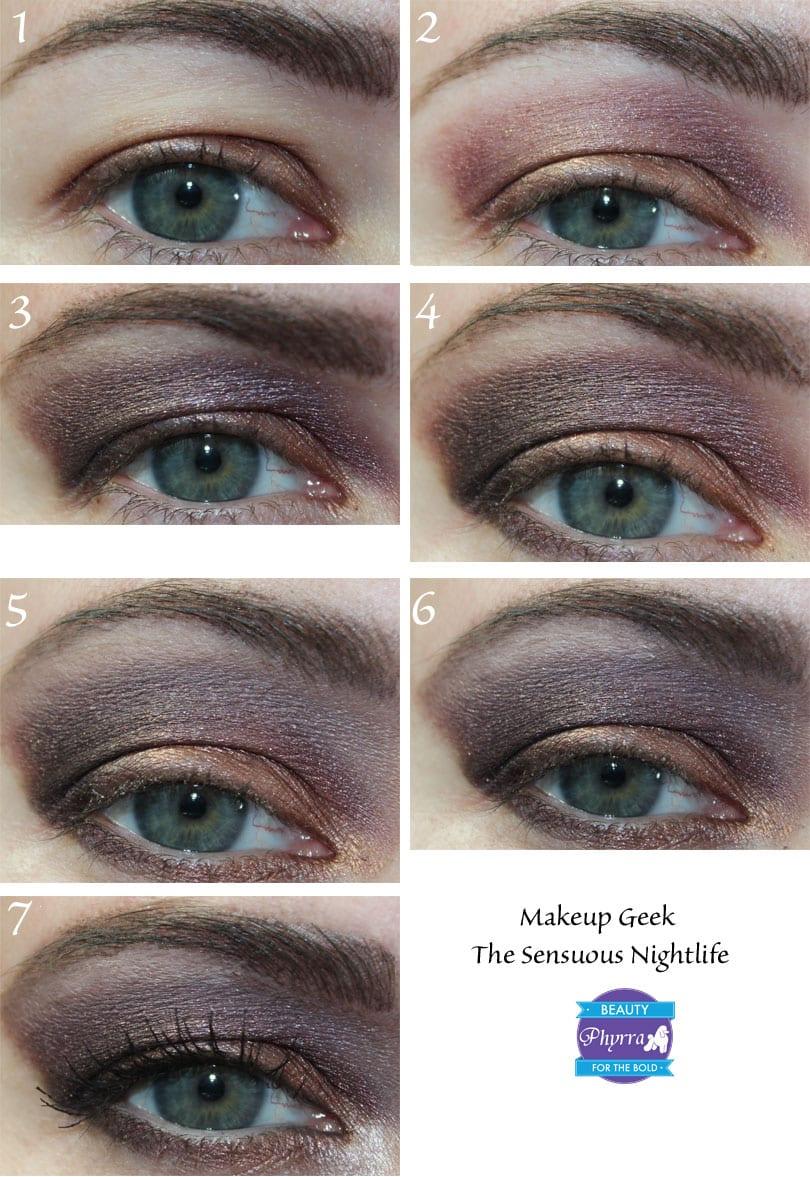 Makeup Geek Nightlife Pigment Tutorial