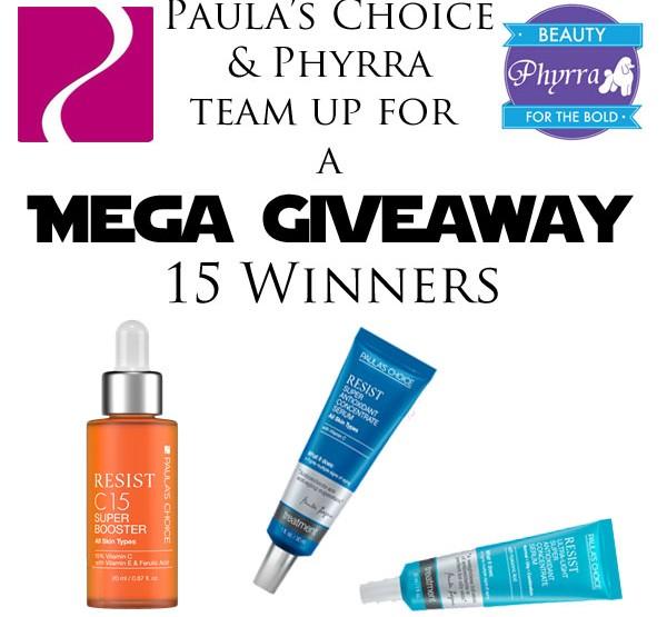 Paula's Choice Mega Giveaway