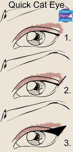 Quick Cat Eye Tutorial