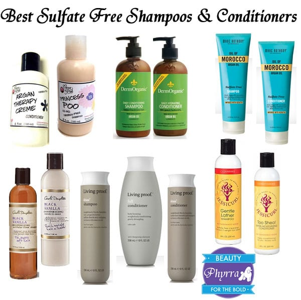 Best Sulfate Free Shampoos and Conditioners