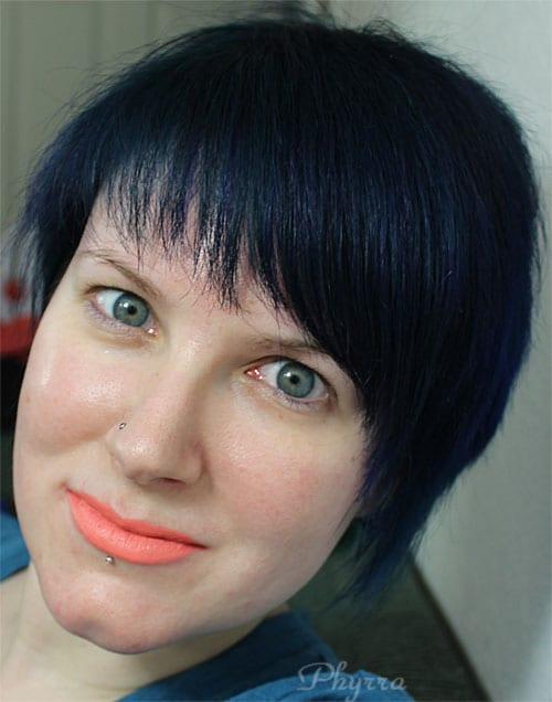 Wearing only Melt Cosmetics Summer! Lipstick