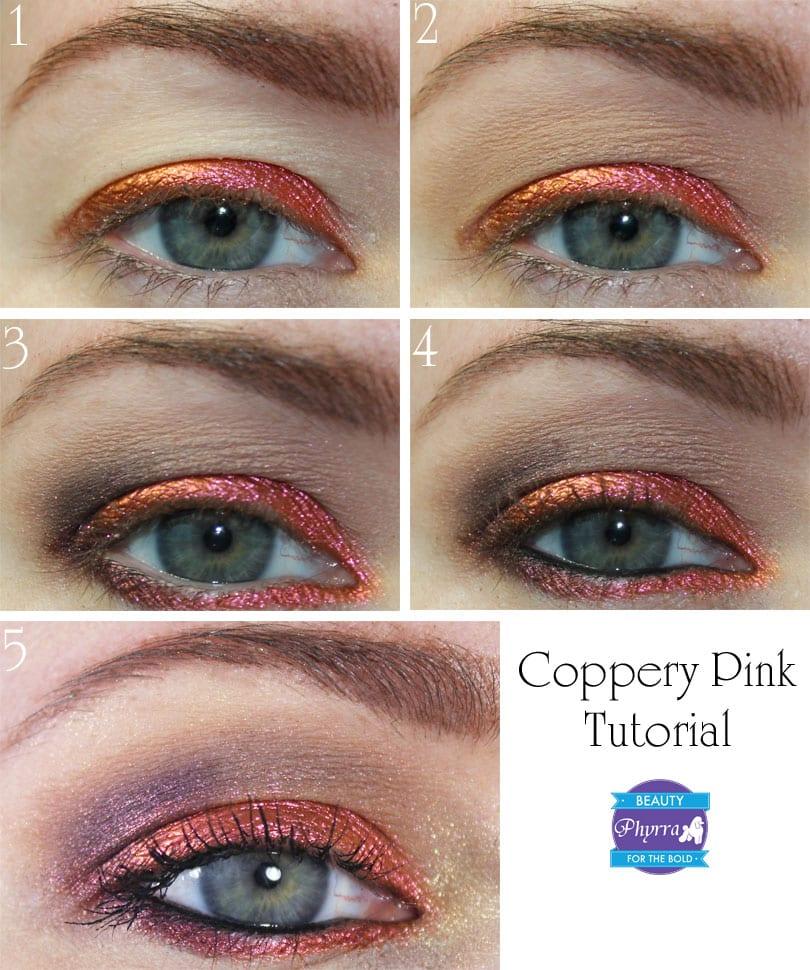 Inglot Coppery Pink 81 Makeup Tutorial