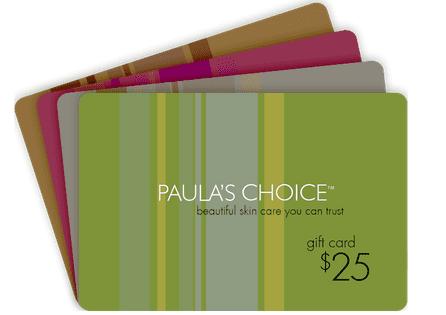 Paula's Choice Gift Cards