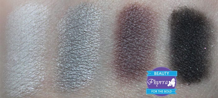 bareMinerals READY Eyeshadow 4.0 The Afterparty Cheers Mingle Rowdy Lights Down Swatches and Review