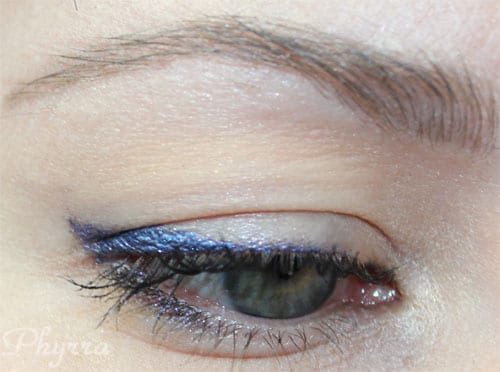 Pixie Epoxy used as liner