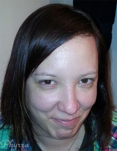 Krissy Before Makeup