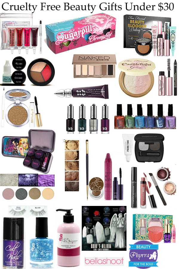 Cruelty Free Beauty Gifts Under $30