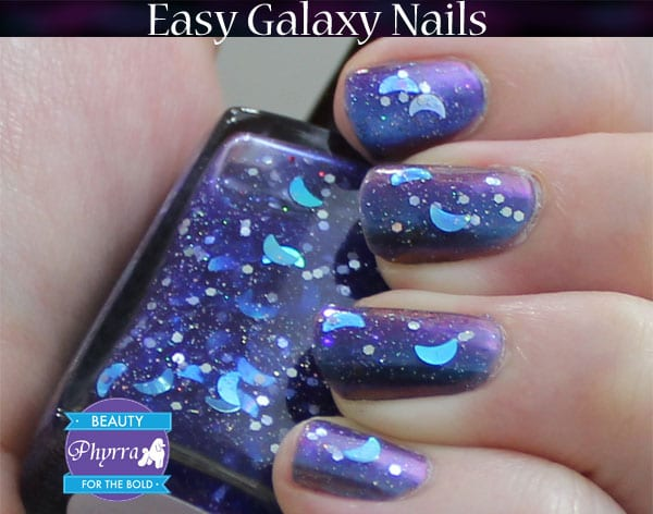 Galaxy Nail Polish Tutorial