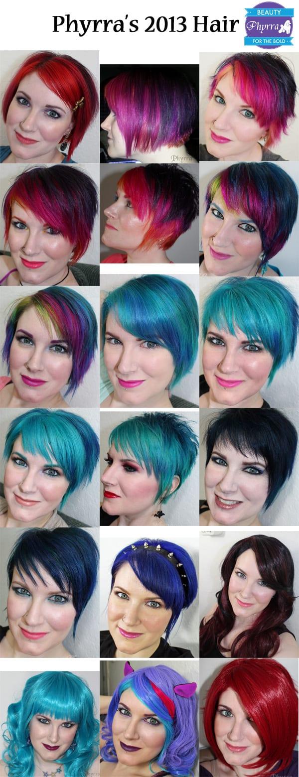 Phyrra's Rainbow Hair