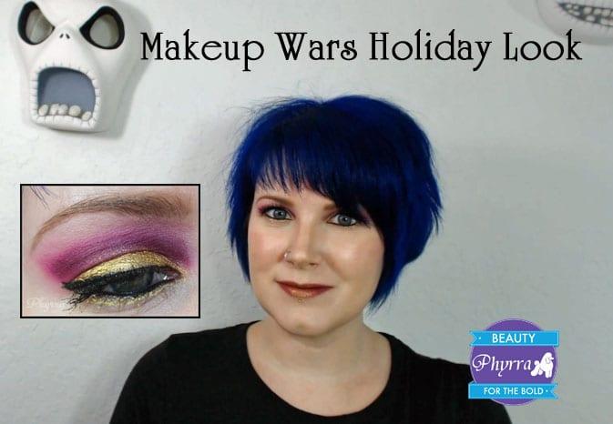 Makeup Wars Sugarpill Holiday Look