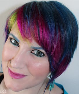 May Neon Peacock Hair