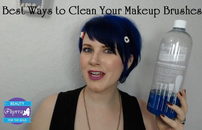 Best Ways to Clean Your Makeup Brushes