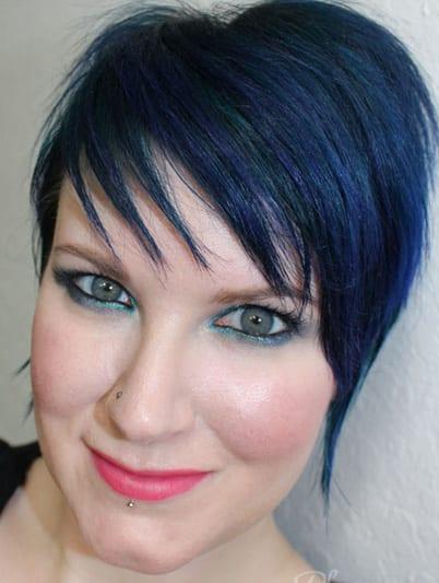 Dark Blue Pixie