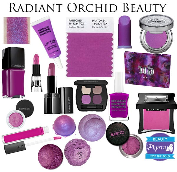 Pantone Color 2014 Radiant Orchid Beauty Products