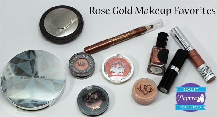 Best Cruelty Free Rose Gold Makeup Favorites