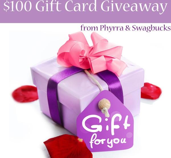 $100 Swagbucks Giveaway