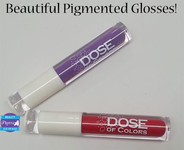 Dose of Colors Glosses Review, Video Swatches