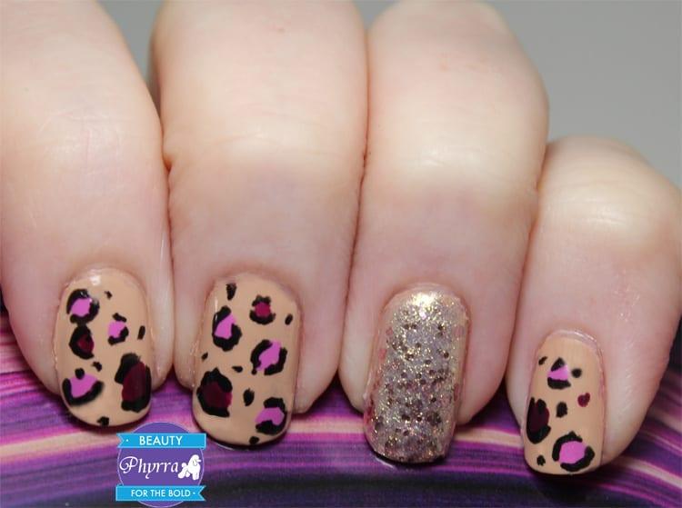 Milani Spring 2014 Leopard Nail Art