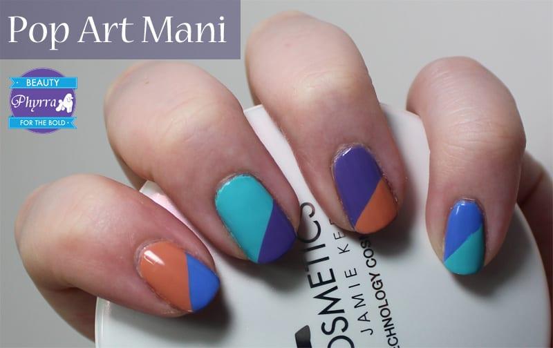 Milani Spring 2014 Pop Art Nail Art Nails
