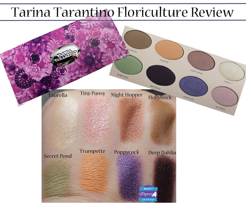 Tarina Tarantino Floriculture Palette Review Swatches