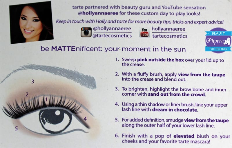 Tarte Your Moment in the Sun Tutorial