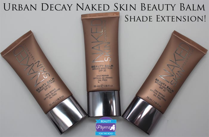 Urban Decay Naked Skin Beauty Balm Review, Swatches, Video