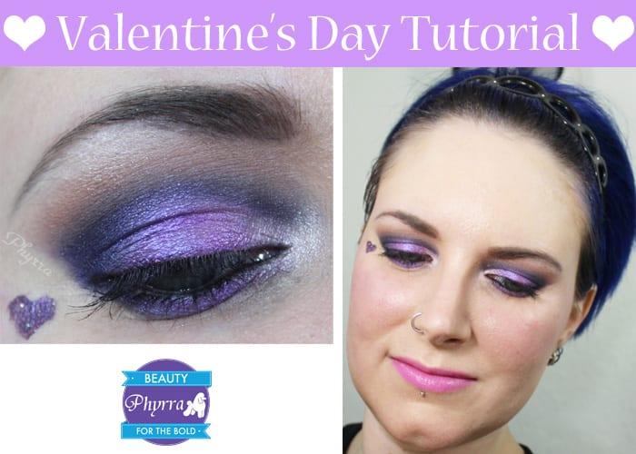 Valentine's Day Eyeshadow tutorial