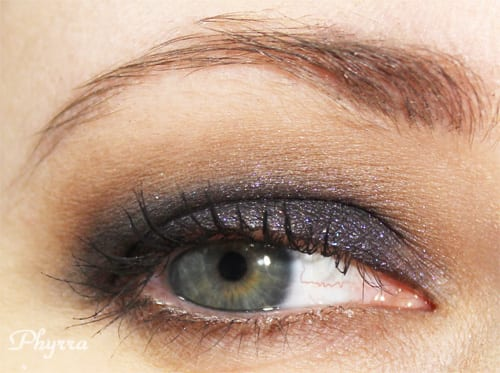 Wearing Whip Hand Action eyeshadow