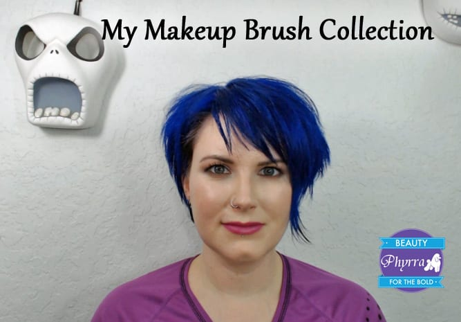 My Makeup Brush Collection Video