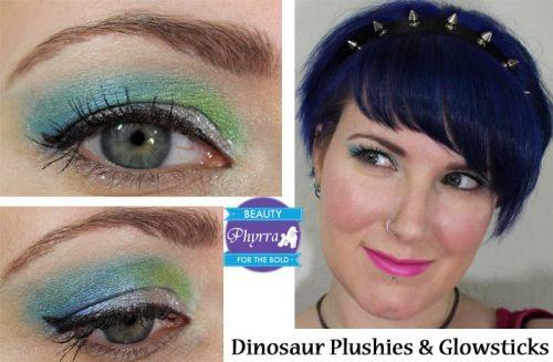 Dinosaur Plushies & Glowsticks