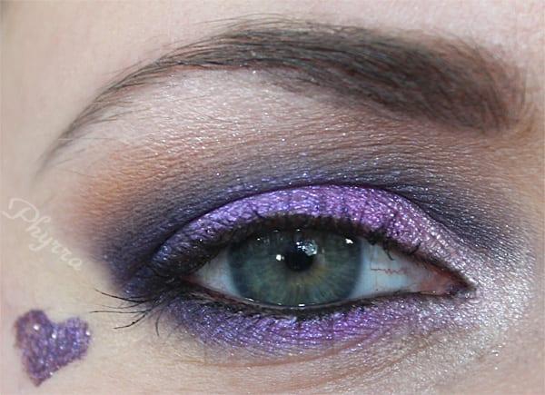 Purple Valentine's Day Makeup Tutorial