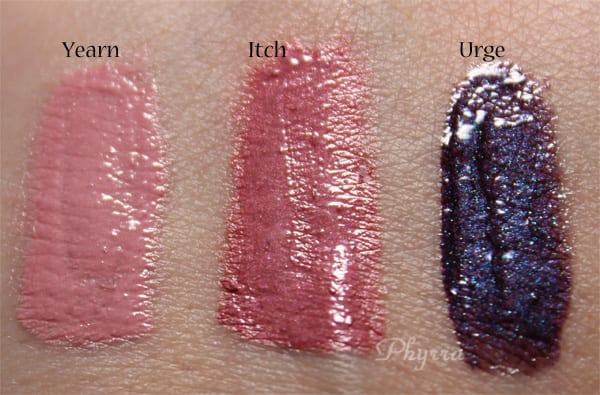 Whip Hand Long Wear Lip Veneers Swatches Review