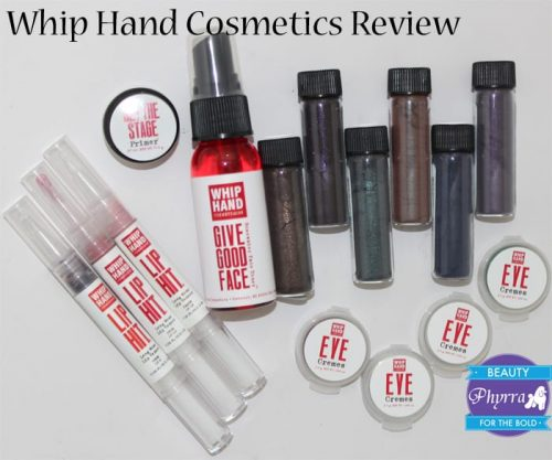 Whip Hand Cosmetics Review