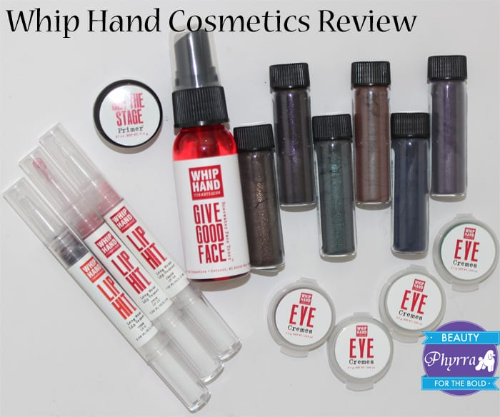 Whip Hand Cosmetics Review Swatches