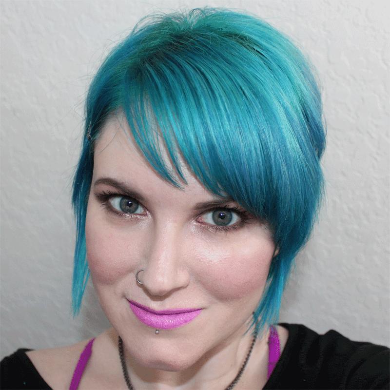 Wearing Love Potion Lipstick