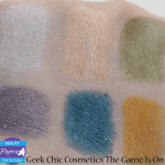 Geek Chic Cosmetics The Game Is On Review