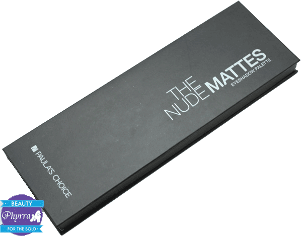 Paula's Choice Nude Mattes Eyeshadow Palette Review Swatches Video
