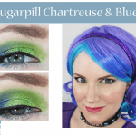 Sugarpill Chartreuse and Blue Tutorial